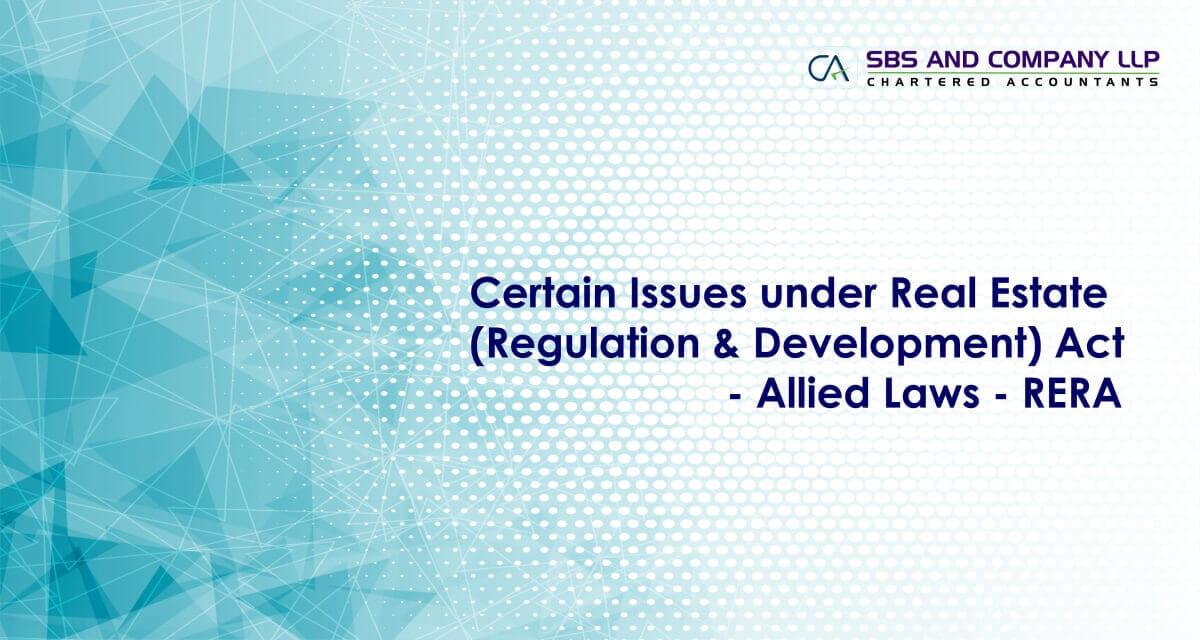 Real Estate Act | Real Estate Regulatory Authority | RERA |