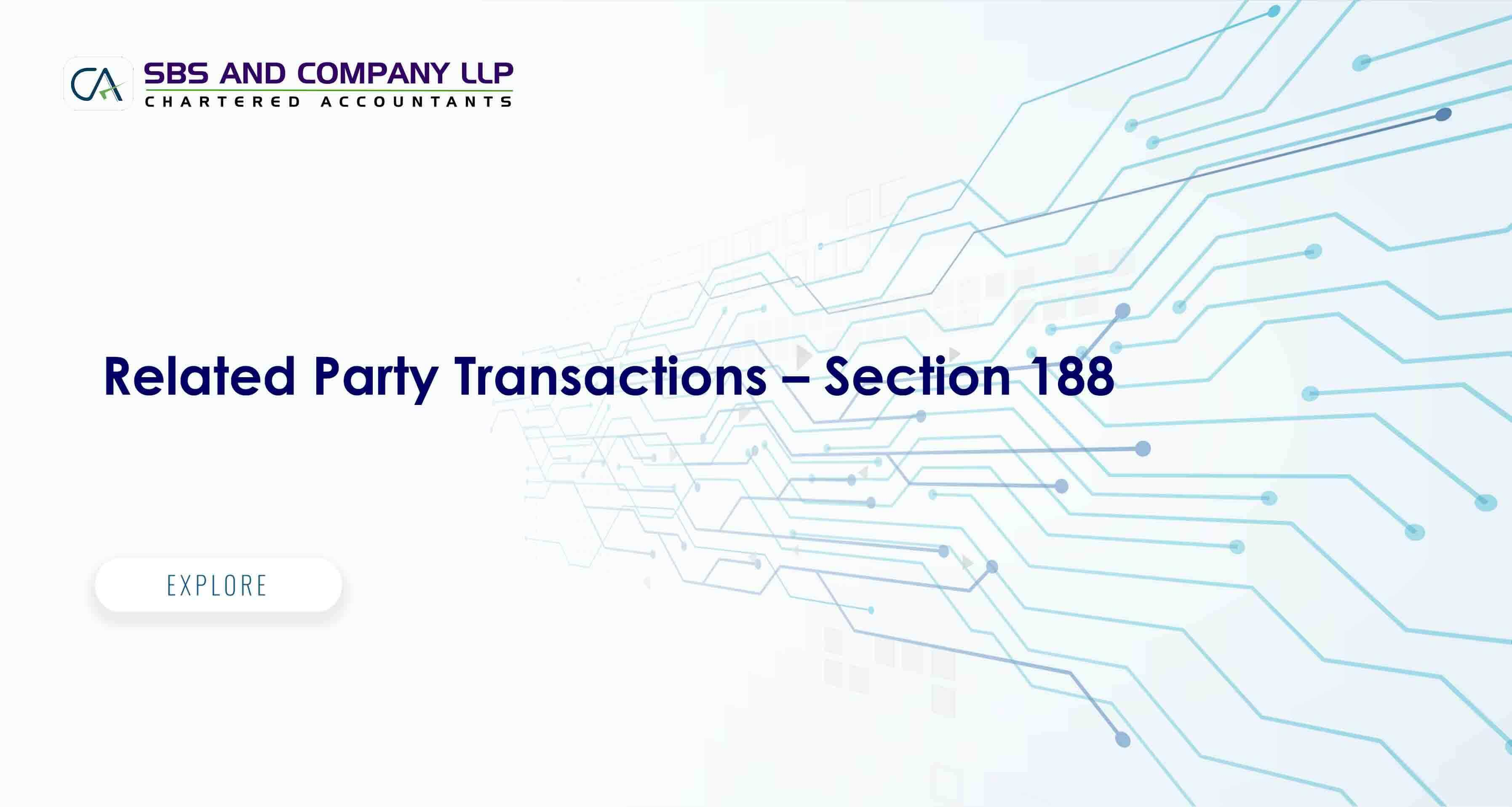 Related Party Transactions – Section 188