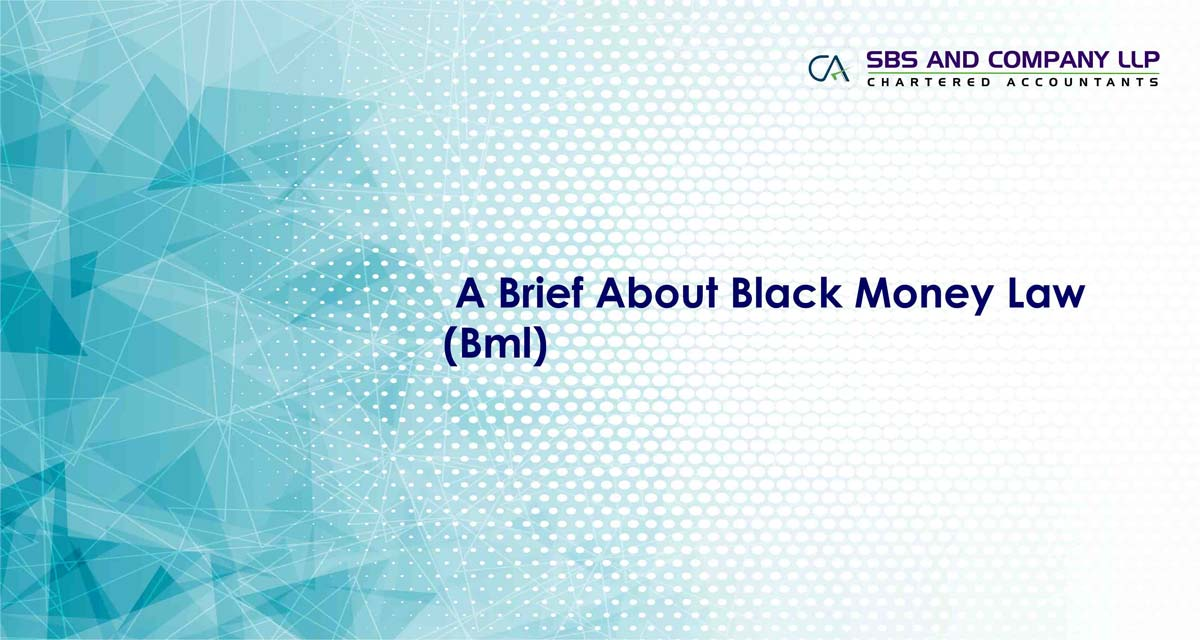 A Brief About Black Money Law (Bml)