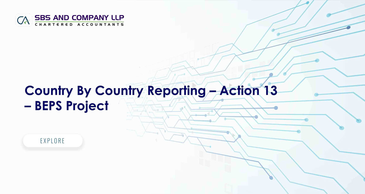 Country By Country Reporting - Action 13 - BEPS Project