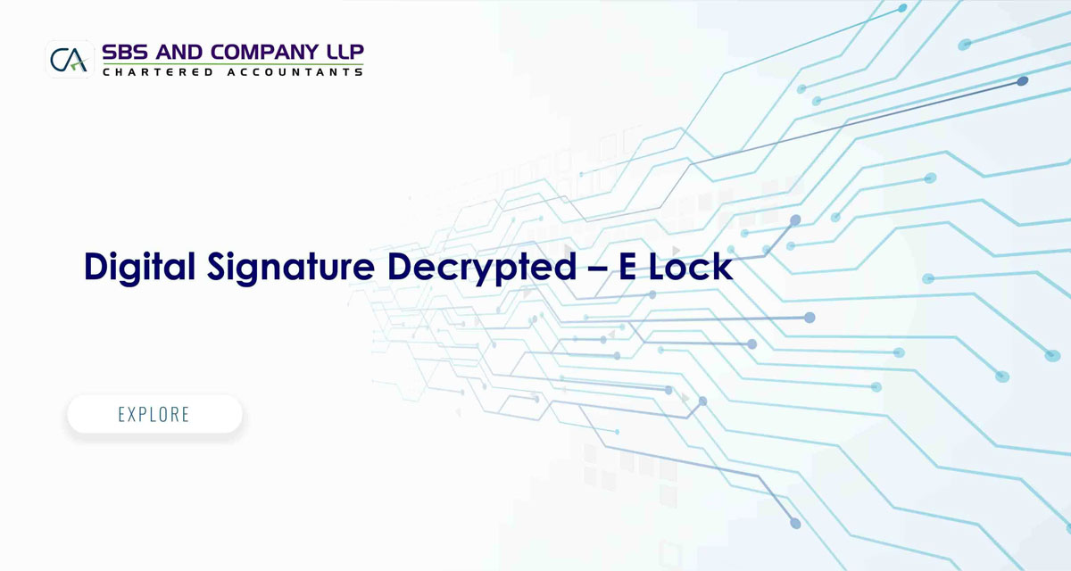 Digital Signature Decrypted - E Lock