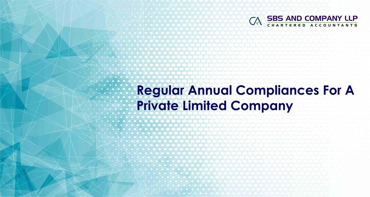 Regular Annual Compliances For A Private Limited Company