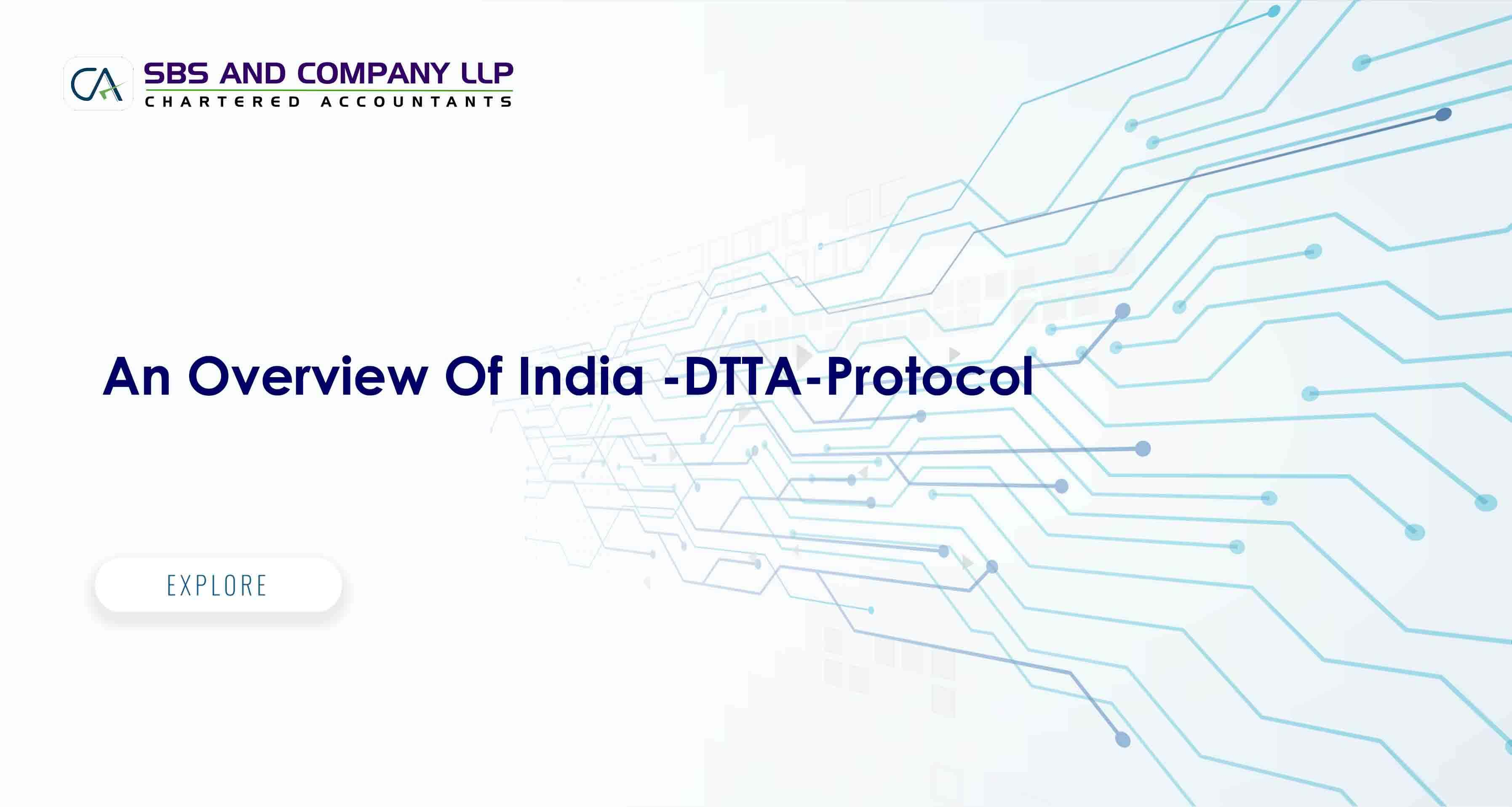 An Overview Of India - DTTA - Protocol