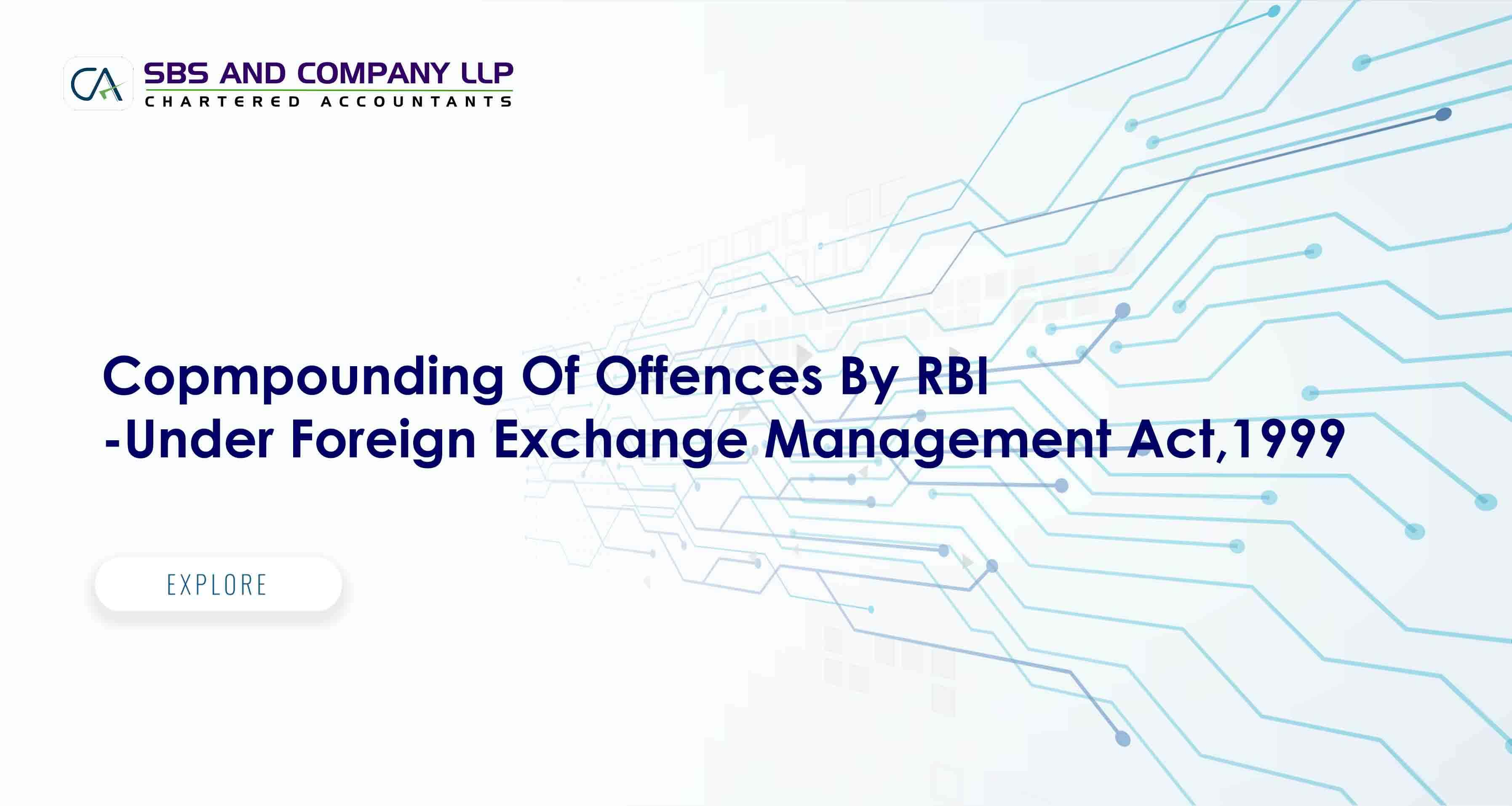 Copmpounding Of Offences By RBI-Under Foreign Exchange Management Act,1999