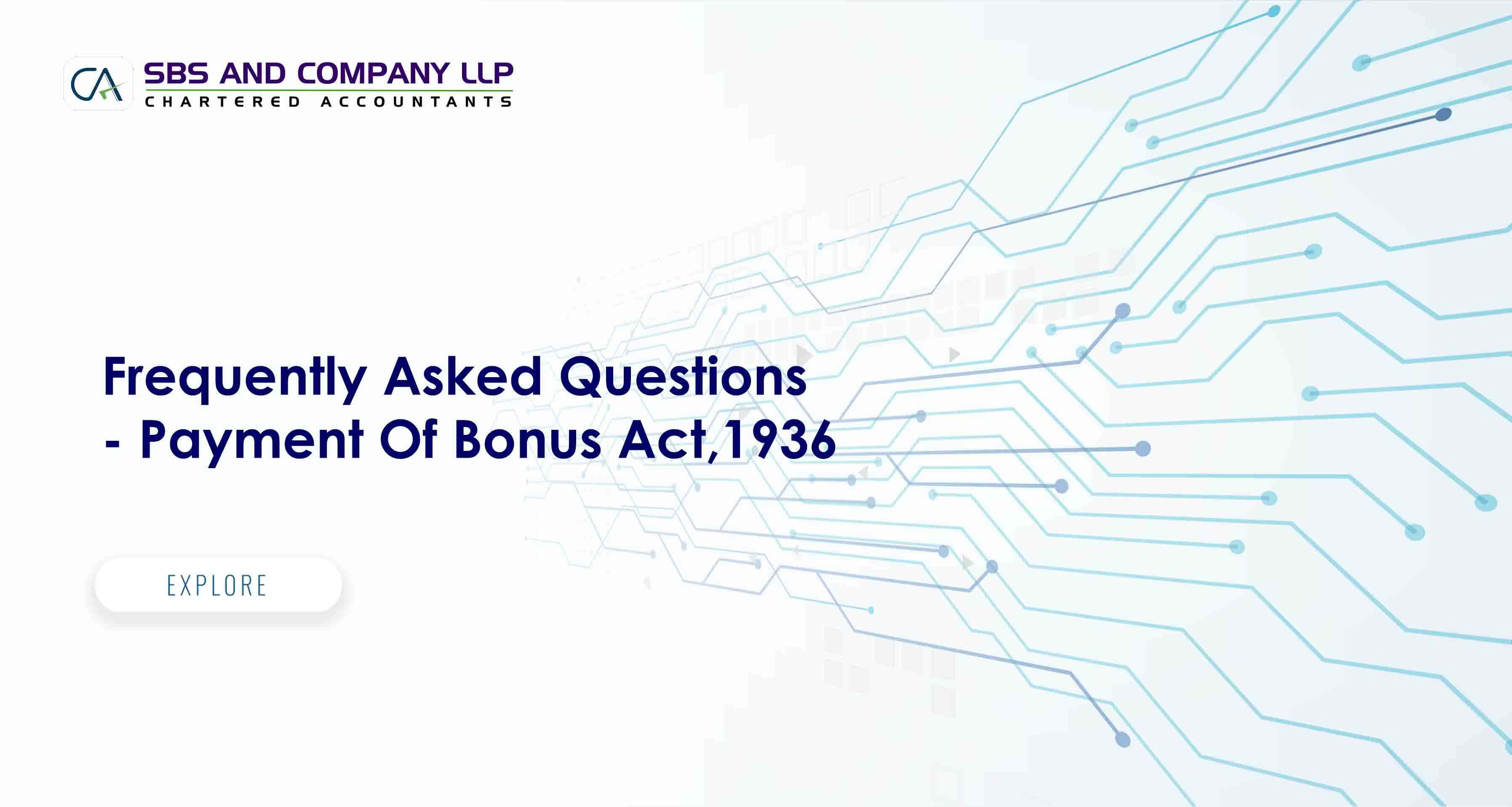 Frequently Asked Questions- Payment Of Bonus Act,1936