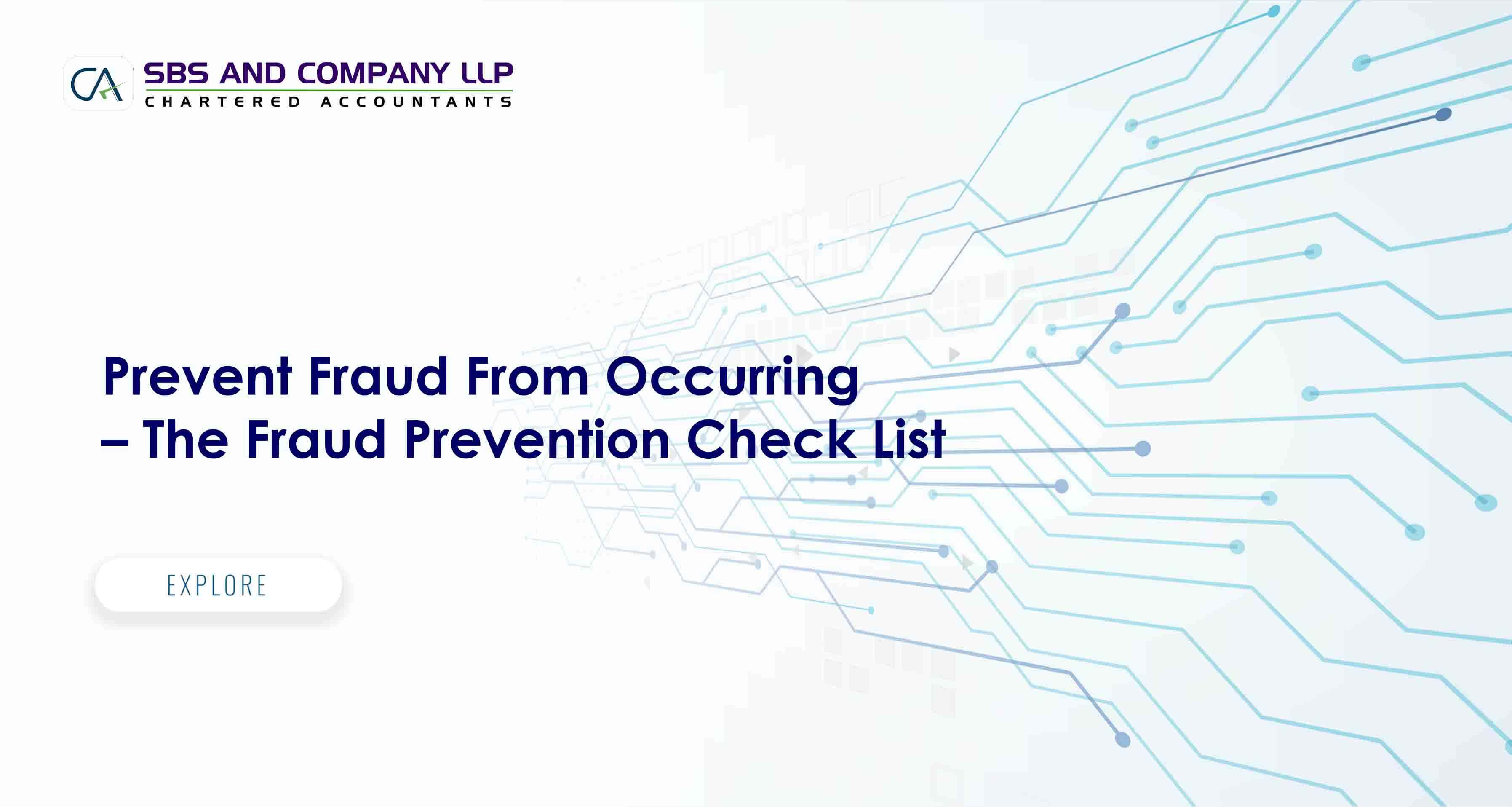 Prevent Fraud From Occurring - The Fraud Prevention Check List