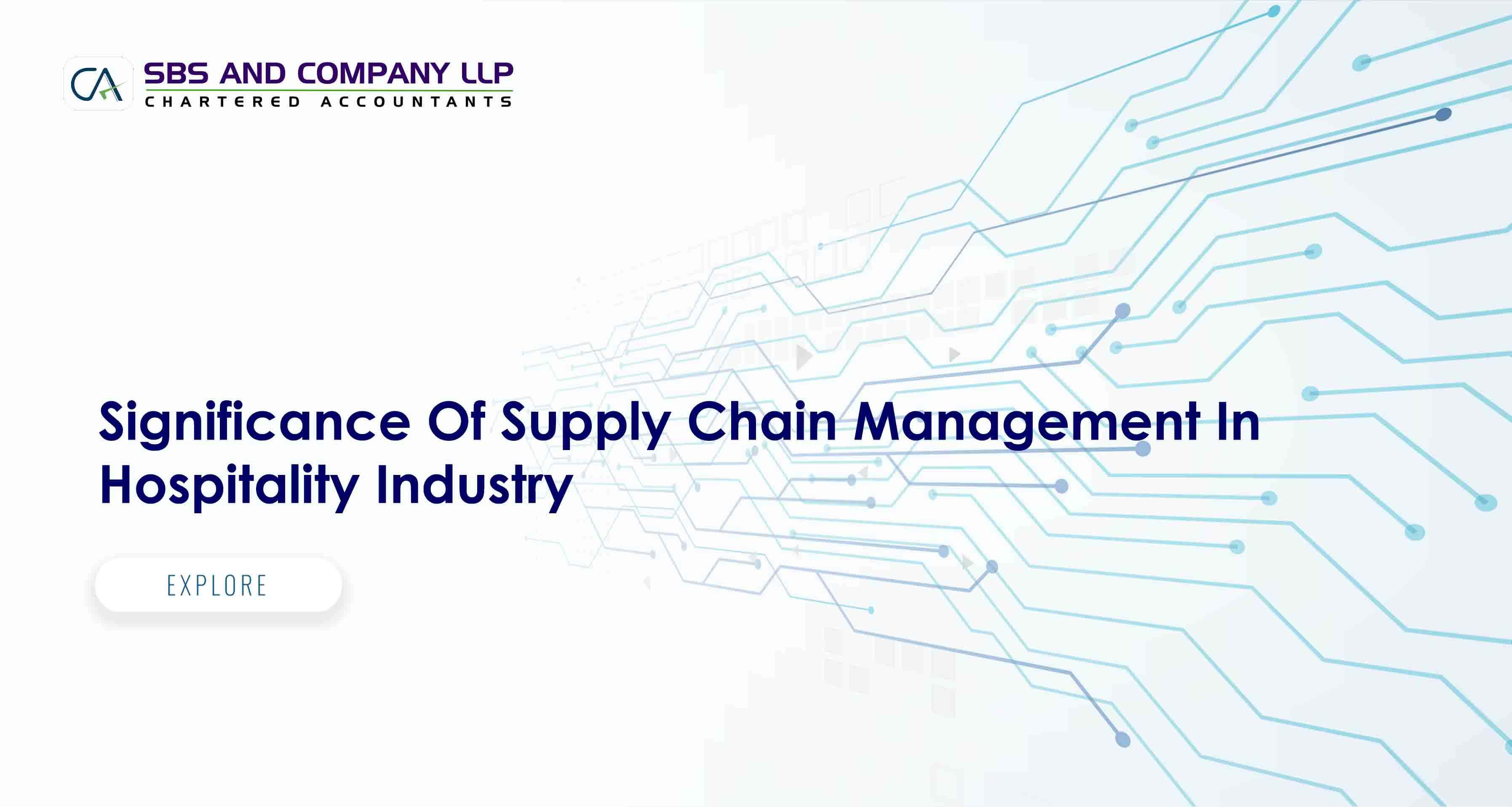 Supply Chain Management In Hospitality Industry