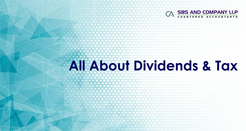 All About Dividends & Tax