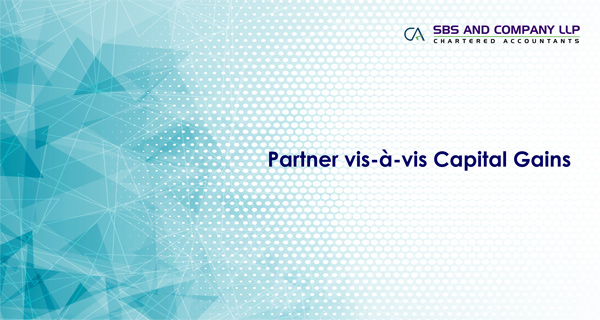 Partner vis-à-vis Capital Gains